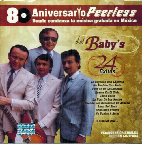 Price comparison product image Los Baby's 24 Exitos 80 Aniversario Peerless