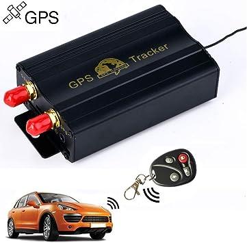 Rastreador GPS SMS TK103B con mando a distancia de control, software versión PC, aplicación de escáner de seguimiento en tiempo real con enlace a Google Maps: Amazon.es: Electrónica