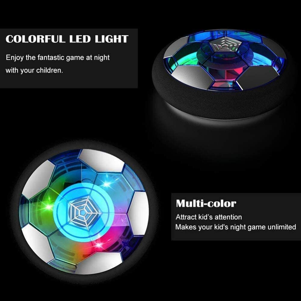 Kids Toys Hover Soccer Ball Gift Boys Girls Age 3,4,5,6,7,8,9-12 Year Old Rechargeable Air Power Football Sport Ball Game