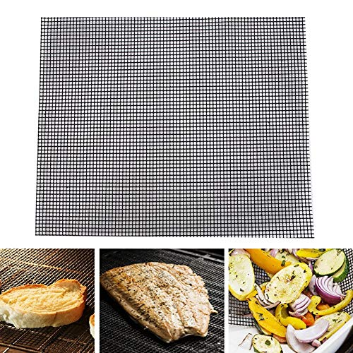 【𝐒𝐩𝐫𝐢𝐧𝐠 𝐒𝐚𝐥𝐞 𝐆𝐢𝐟𝐭】Simlug BBQ Mat,Reusable BBQ Mat Non Sticky BBQ Grill Roast Mat Pad for Baking Picnic Fry Cooking Tools…