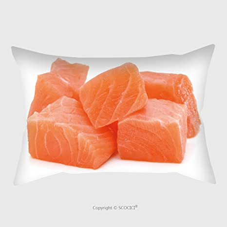Pillowcase Protector Raw Salmon Fillet