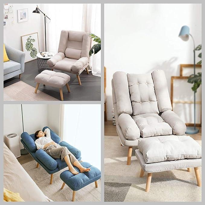 Amazon.com: Sofá plegable con silla reclinable, sofá con 5 ...