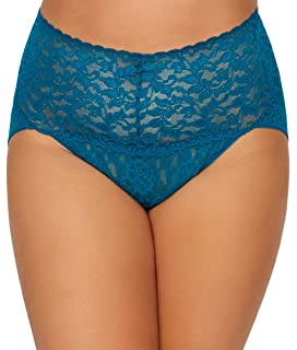 b40f1d2dfd6 Hanky Panky Women s Plus Size Organic Cotton Signature Lace French ...