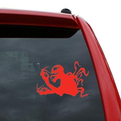 Scorpion Car Sticker Red Vinyl Decal choose size 5/'/' 8/'/' 10/'/' 20/'/'