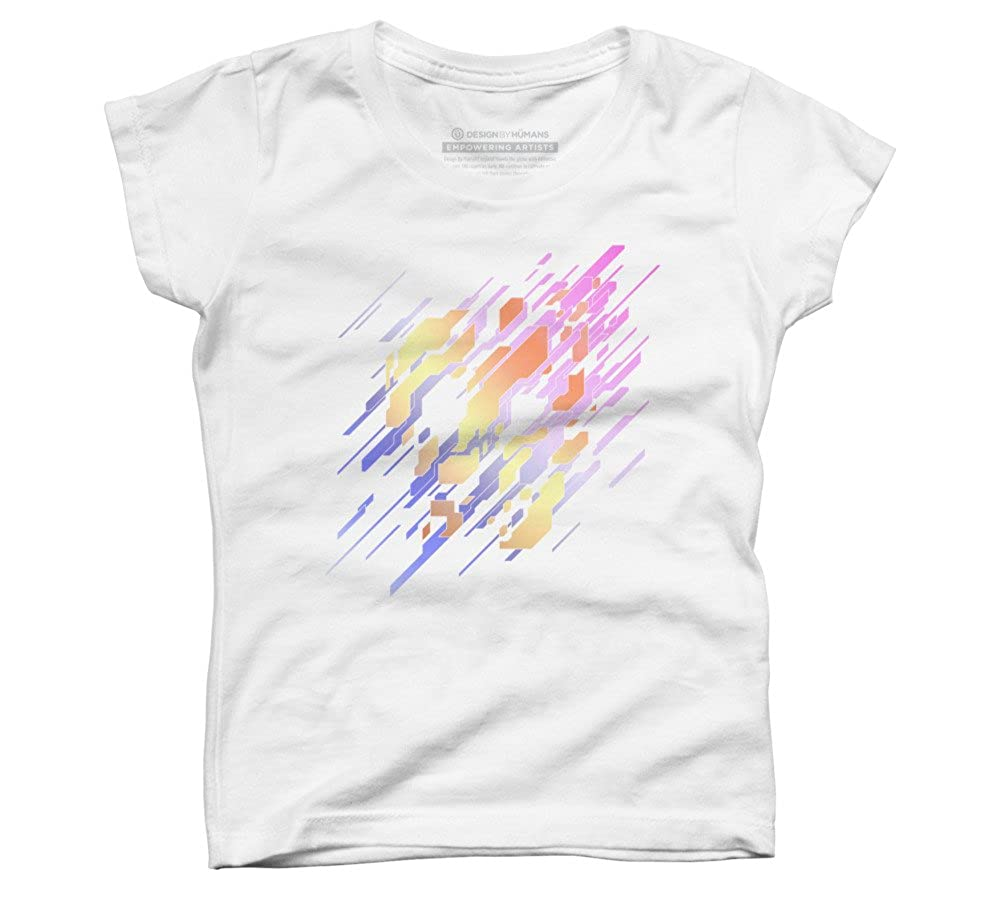 DBH Artist Series Shattered Logo Girls Youth Graphic T Shirt