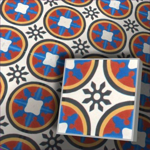1 m² bunte fliesen ornament zementfliesen fliesenspiegel küche ...