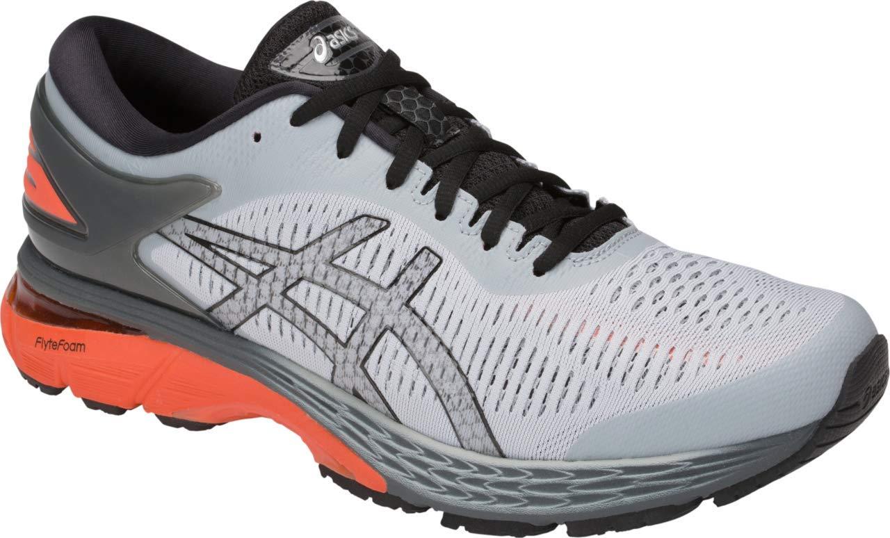 ASICS Gel-Kayano 25 Men's Running Shoe, Mid Grey/Red Snapper, 7 M US by ASICS (Image #1)