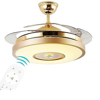 MMYNL Ventiladores de techo con lámpara de techo ventilador ...