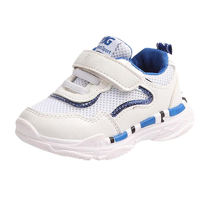 ZODOF Niño pequeño Bebé Niños Niñas Niños Zapatillas de Deporte Casuales Malla Zapatillas de Deporte Zapatos Zapatillas Respirable Mocasines: Amazon.es: ...