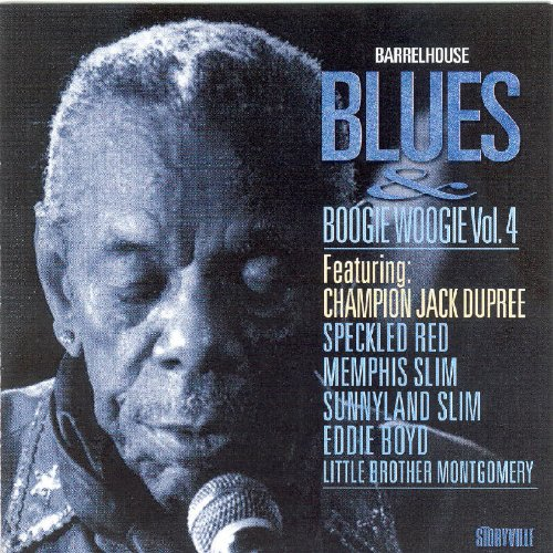 Price comparison product image Barrelhouse Blues and Boogie Woogie, Vol.4