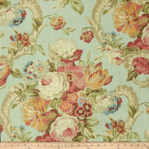 (WAVERLY Spring Bling Fabric, Vapor )