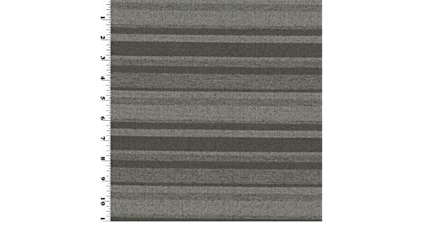 Amazon.com: Designer Charcoal Gray Pente Stripe Home ...