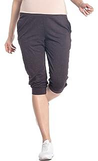 aa0b72b5a5308 New Look Maternity Women's Lolly Linen Crop Maternity Trousers ...