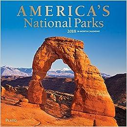 2018 americas national parks wall calendar