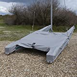 UK Custom Covers BC202GREY Dinghy Tailored Waterproof Cover - GREY