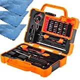 EEEKit Precision 45 in 1 Screwdriver Set Repair Maintenance Kit Tools for iPhone, iPad, Samsung, and other Smartphone Tablet Computer Electronic Devices(45in1)