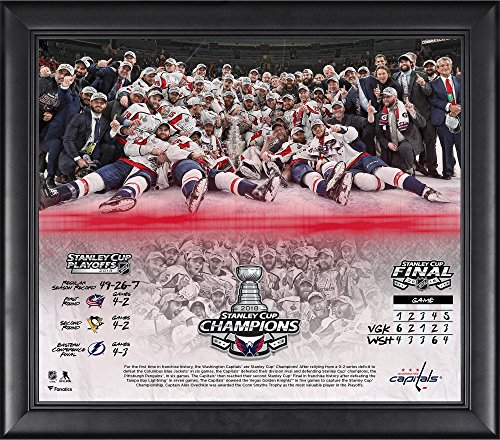 (Washington Capitals 2018 Stanley Cup Champions Framed 15