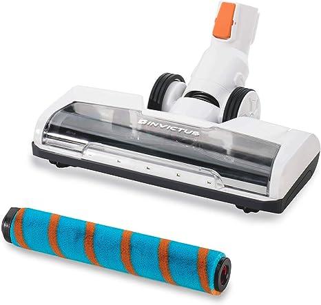 Genius Invictus X7 X5 - Aspiradora con batería (ruedas motorizadas, ultra suave, con luces LED, 10.000 rpm, para limpieza de suelos duros como parqué, azulejos y piedra): Amazon.es: Hogar