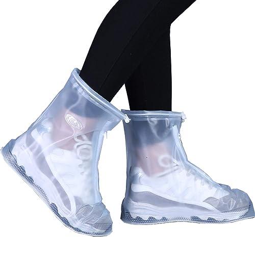 2fffd1d75f25a VICUNA POLO Rain Shoes Transparent Waterproof Snow Men Women Rain Boots for  Kids/Adult Shoes