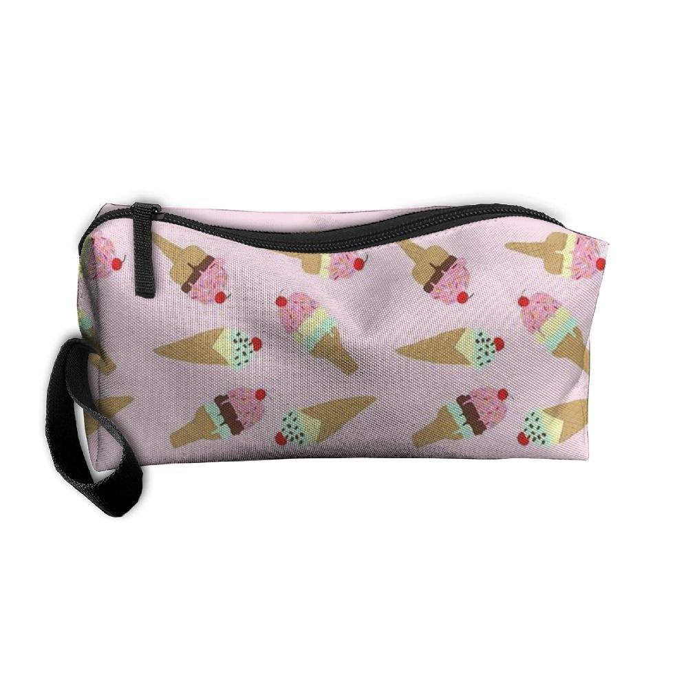 ... Vvdfedsee Ice Cream Multifunction Handle Toiletry Bag Portable Buggy Bag  Travel Small Makeup Clutch Bag Cosmetic ... f23f30008d