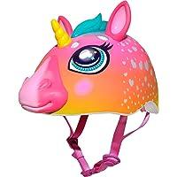 Raskullz Kids' C-Preme Super Rainbow Corn Helmet Pink, One Size
