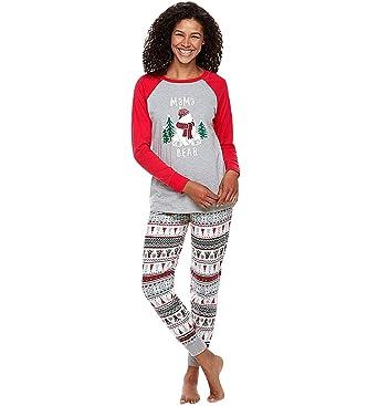 Schönheit super service schön und charmant Weihnachts Schlafanzug Familie Weihnachtspyjama Weihnachts ...