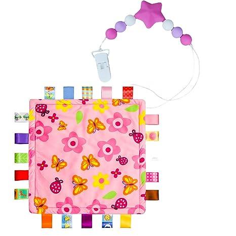 2-pack) Inchant colorido Manta Manta cintas bebé Taggy con ...