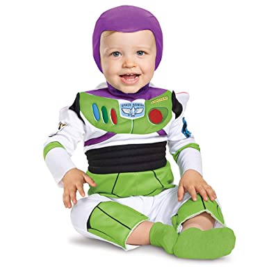 Disguise Costumes Buzz Lightyear Deluxe Costume (Infant), 12-18 Months: Toys & Games
