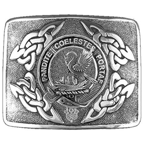 Gibson Scottish Clan Crest Kilt Buckle ()