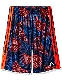 Big Boys' Athletic Short, Solar Red, X-Large