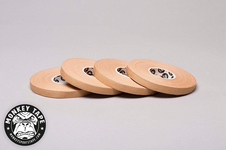 Monkey Tape® - 4 Rolls of 0.3 inch Tape, 15 Yards in tan