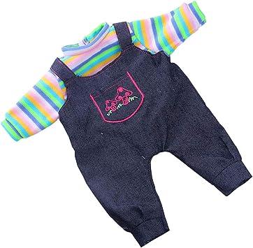 Veste Sweat-shirt Et Pantalons dHiver V/êtements Pour Poup/ée 18 inch Fille Am/éricainne Fuchsia