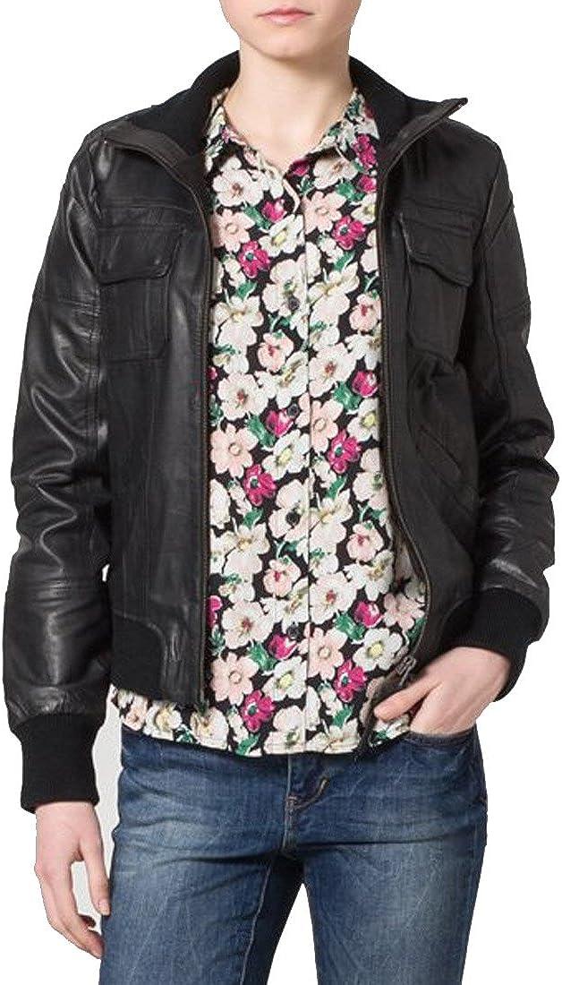 Brand New Genuine Soft Lambskin Leather Jacket For Womens Designer Wear XW041
