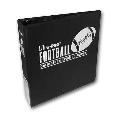 "Ultra Pro 3"" Black Football Album: Sports & Outdoors"