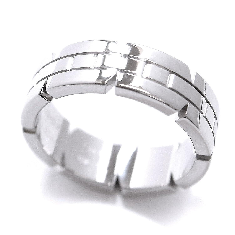 カルティエ Cartier タンクフランセーズ #54 リング K18WG 18金ホワイトゴールド 750 指輪 【証明書付き】 【中古】 90050598 B07F9PMP74