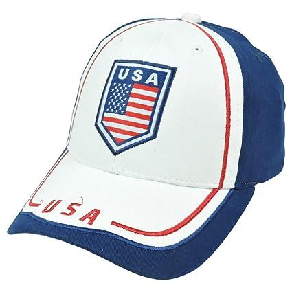 7fbe5409dbd Amazon.com   Rhinox CIQ08 USA United States America Flag Football ...