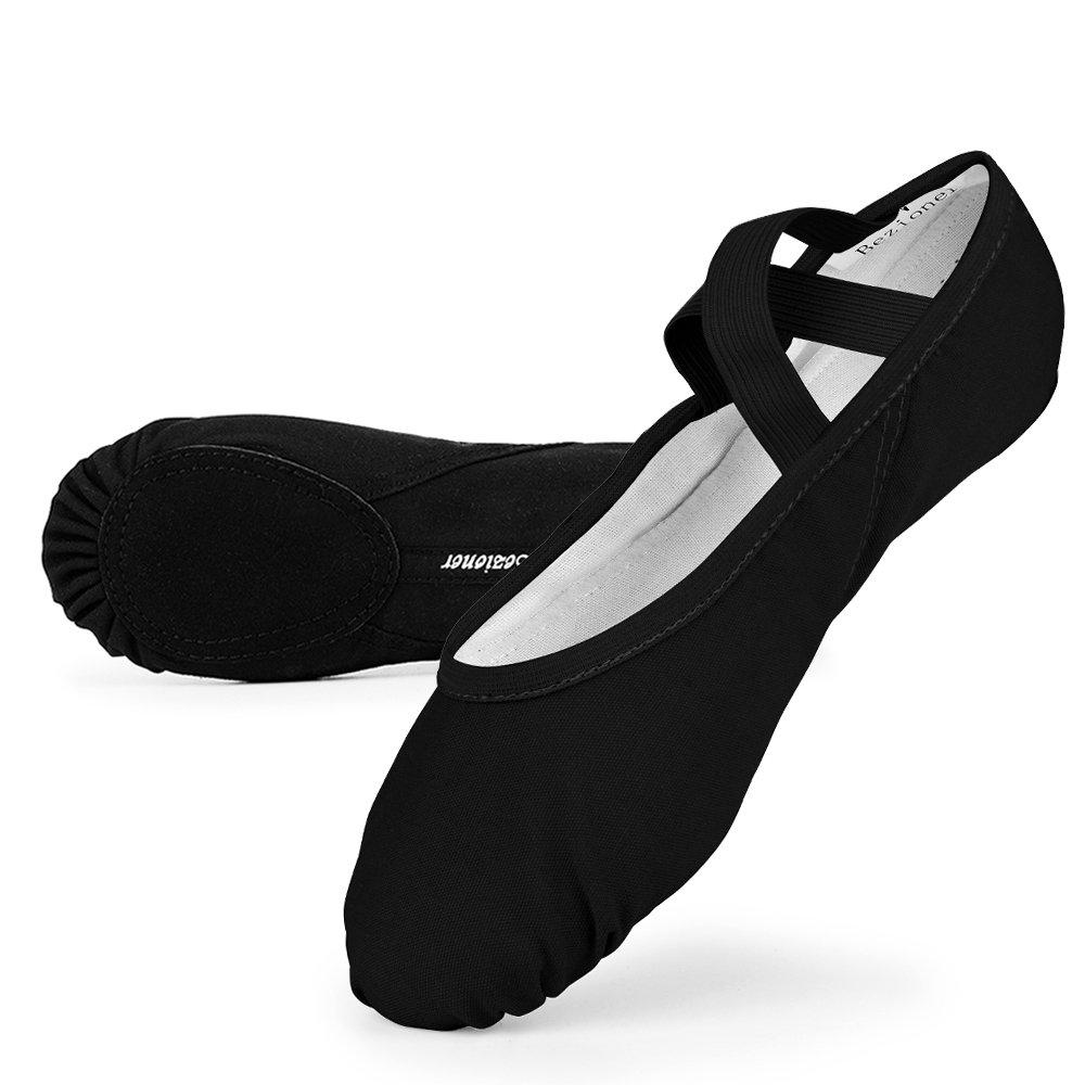 120edf6a6838 Skyrocket Flying Filles Femme Demi Pointe Toile Chaussures de Ballet  EU25~44 Doux Chaussons de