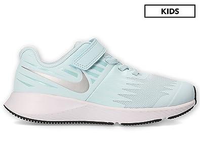 08ce52004417 Nike Girls  Pre School Star Runner Shoe Glacier Blue Metallic Silver ...