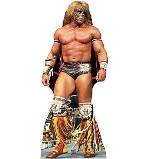 New WWF Ultimate Warrior Wristband /& Tassel Set WWE