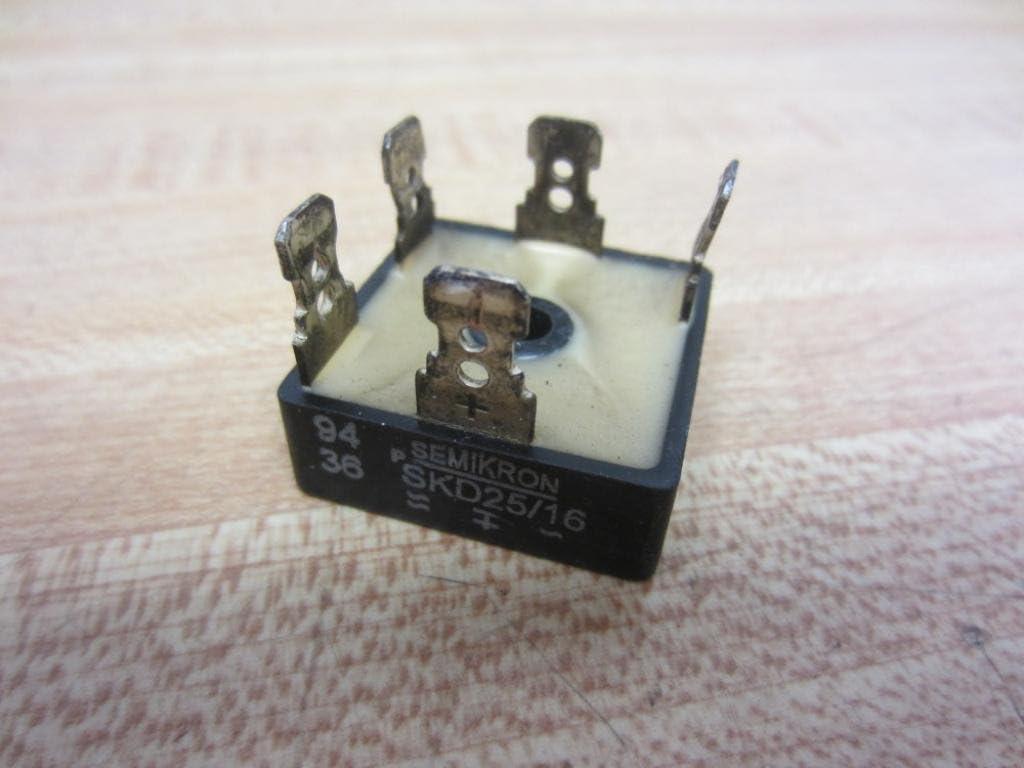 New SEMIKRON Power Module SKD25//16 SKD25//16