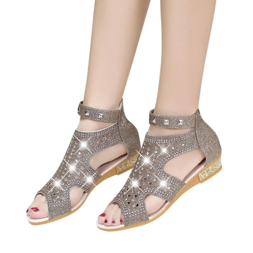 465b151875d030 ... Sandals Women Wedge Sandals Fashion Fish Mouth Hollow Roma  AIMTOPPY  HOT Sale
