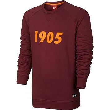 Nike Galatasaray SK M NSW CRW Ft Aut SLD Camiseta de Manga Larga, Hombre,