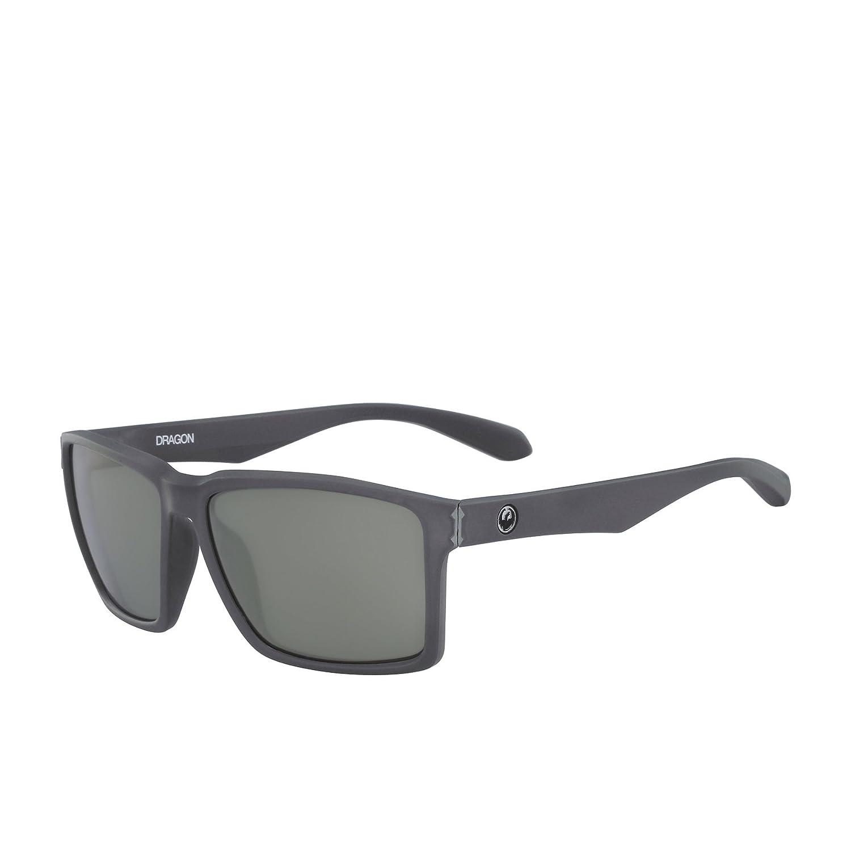 fd7eaa44f6 Amazon.com  Dragon Method Matte Grey Sunglasses One Size Silver Ionized   Sports   Outdoors