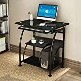 Oshion PC Corner Computer Desk Laptop Table Workstation Furniture Home Office