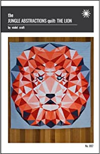 Violet Craft Jungle Abstractions The Lion Qlt Ptrn JungleAbstractionsTheLion Pattern