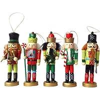 Adornos De Cascanueces De Navidad 12CM 5 Piezas
