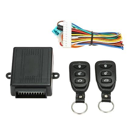 Aolvo - Mando a distancia universal sin llave, cerradura de puerta de coche, sistema