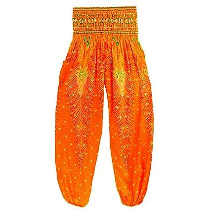Amazon.com: Vicbovo Men Women Unisex Yoga Harem Pants ...
