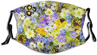 Melory Sunflower Face Cover with Ear Loops Washable and Reusable Face Guard for Cold Dust Outdoors