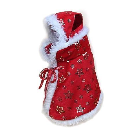 SHSH - Chal de Navidad para Perro, Ropa para Gatos, Disfraz ...